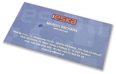 Visitenkarten 50x90 Vertikal